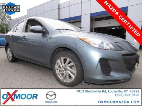 Certified Used Mazda3 4dr Sdn Man i Touring