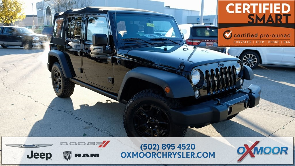 Pre Owned 2015 Jeep Wrangler Unlimited Willys Wheeler 4d Sport