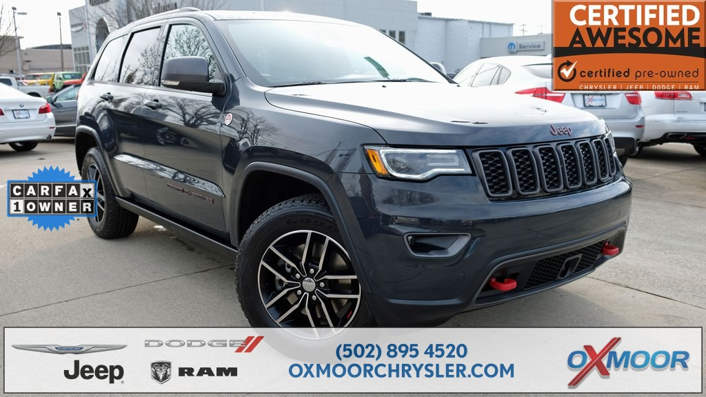 Certified Pre Owned Jeep >> Pre Owned 2018 Jeep Grand Cherokee Trailhawk 4d Sport Utility In
