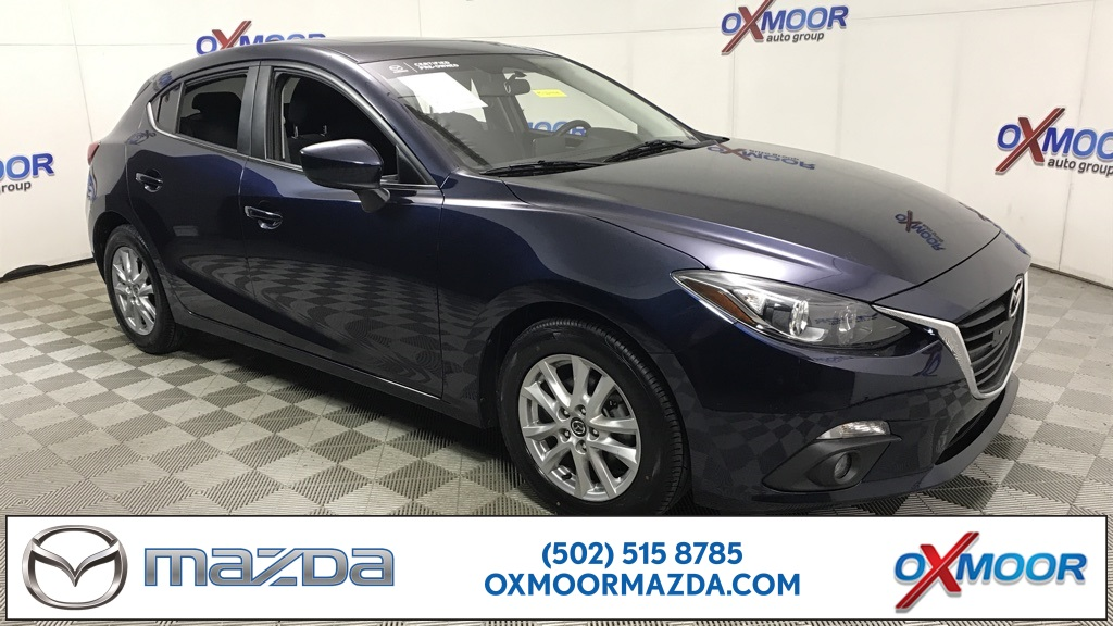 Certified Pre-Owned 2015 Mazda3 4D Hatchback i Touring