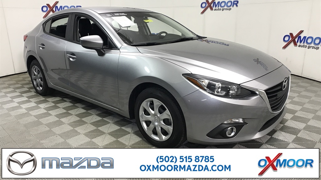Certified Pre-Owned 2016 Mazda3 4D Sedan i Sport