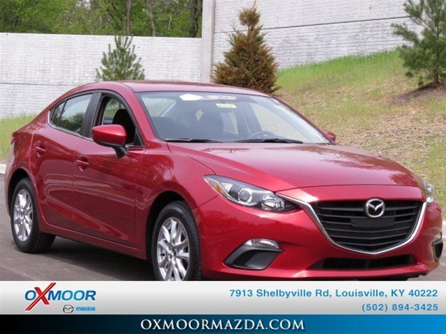 "New 2014 Mazda Mazda3 i Touring<br /><small style=""color: #FF9400;"">In Transit</small>"