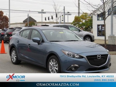 "New 2015 Mazda Mazda3 i Grand Touring<br /><small style=""color: #FF9400;"">In Transit</small>"