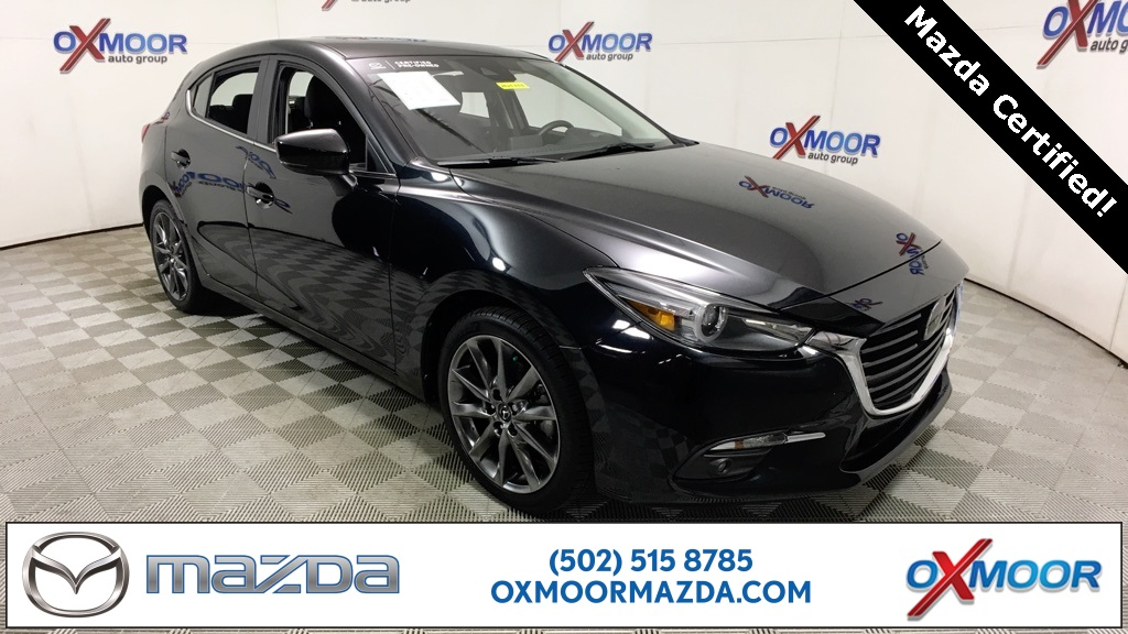 Certified Pre-Owned 2018 Mazda3 4D Hatchback Grand Touring