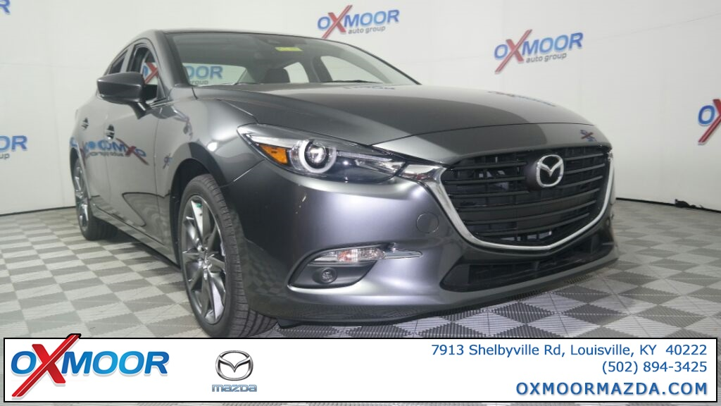 New 2018 Mazda3 4D Sedan Grand Touring Base