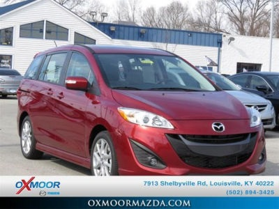 "New 2015 Mazda Mazda5 Grand Touring <br /><small style=""color: #FF9400;"">In Transit</small>"