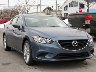 "New 2015 Mazda Mazda6 i Touring<br /><small style=""color: #FF9400;"">In Transit</small>"