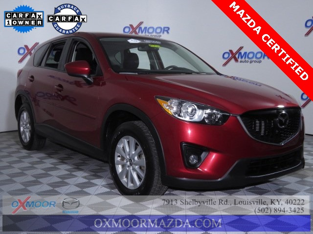 Certified Used Mazda CX-5 Touring Moon roof/Boss package