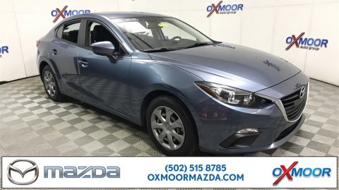 Certified Pre-Owned 2015 Mazda3 4D Sedan i Sport