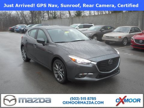 Certified Pre-Owned 2018 Mazda3 4D Hatchback Grand Touring Base