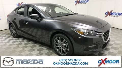 New 2018 Mazda3 4D Sedan Touring Base