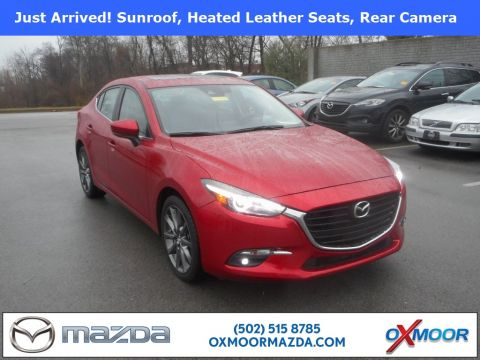 Certified Pre-Owned 2018 Mazda3 4D Sedan Grand Touring