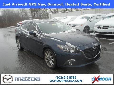 Certified Pre-Owned 2015 Mazda3 4D Sedan s Touring